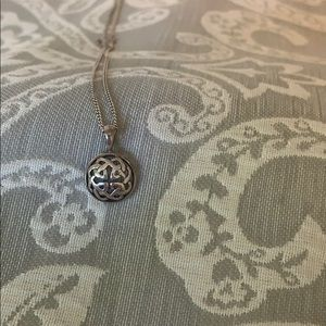 Jewelry - Sterling Silver Celtic Knot Iron Cross Necklace